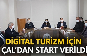 Digital Turizm İçin Çal'dan Start Verildi