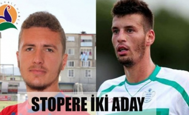 STOPERE İKİ ADAY